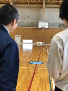 【猪苗代高校でドローン特別授業開催!】