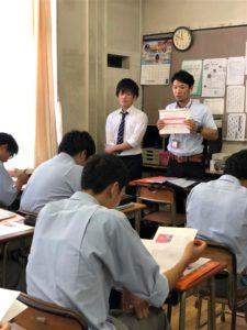 【WiZ生が母校で講師として校内ガイダンスを実施!】