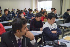 【留学生のプレオリエンテーションを開催しました!】