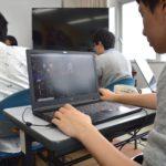 【ゲーム分野】授業風景
