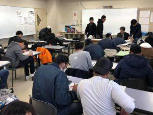 【国際自動車3年 学科授業】