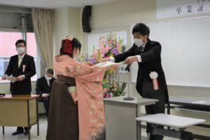 【卒業式を行いました!】